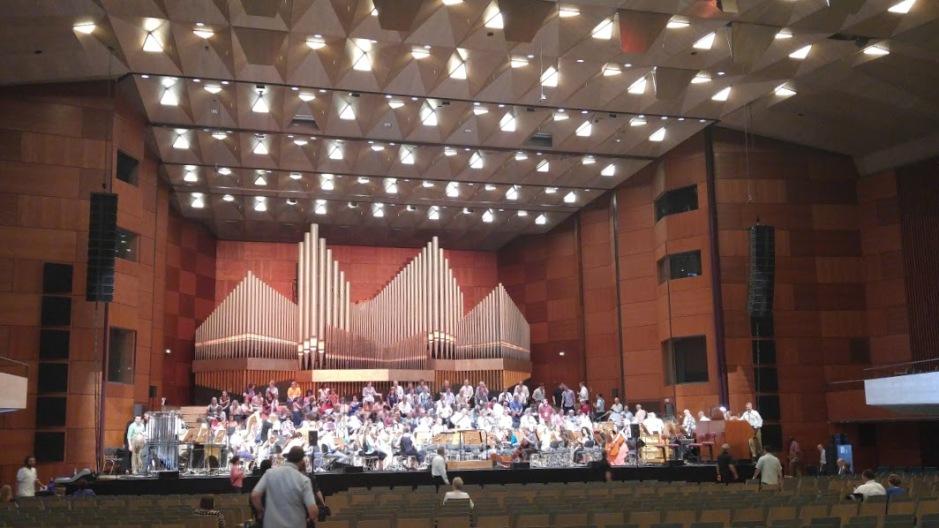 2016-07-01 Meistersingerhalle sound check