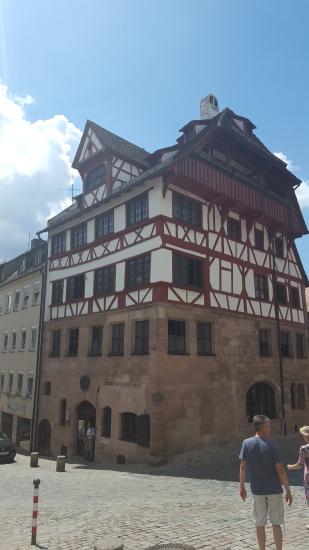 2016-07-01 Nuremberg-durer-house
