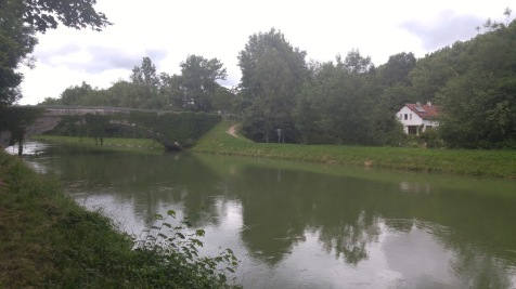 The beautiful canal path and bridge