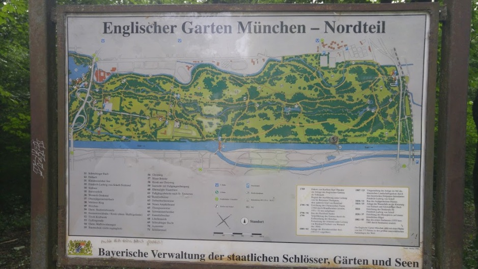 2016-07-02 Englisher Garten Munich map