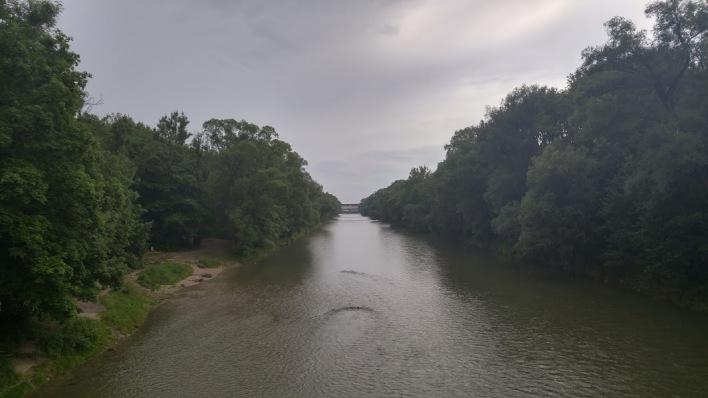 The Englischer Garten river