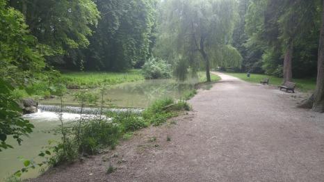 Englischer Garten peacefu path