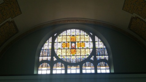 Stained Glass - The Reformed Church of Zurich-Oerlikon