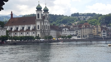 A Jesuit Church, Lucerne
