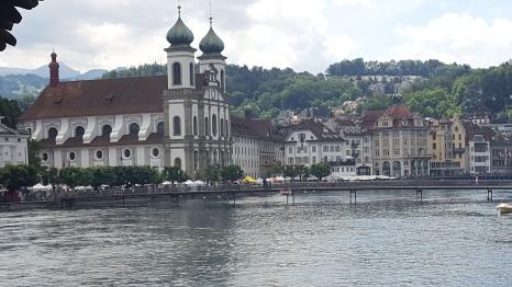 A Jesuit Church, Lucerne