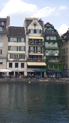 15th Century homes on the Reuss River