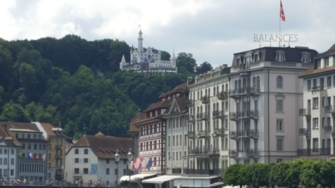 Hotel Chateau Guetsch on the hill