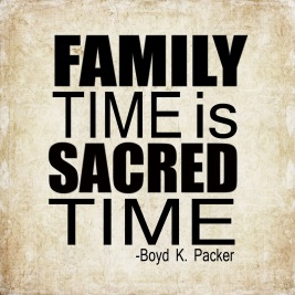 family-time-sacred