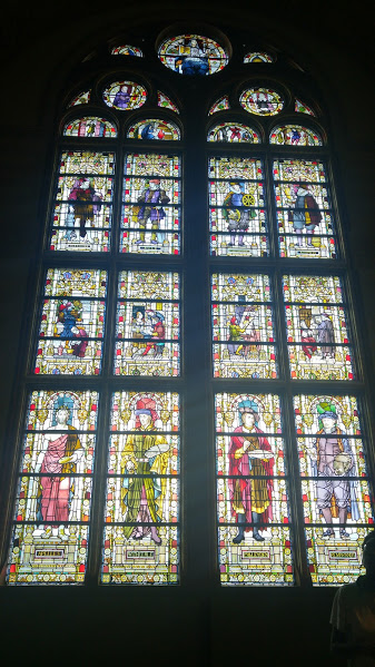 Great Hall (Voorhal) stained glass
