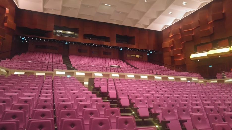 De Doelen Hall - great sightlines!