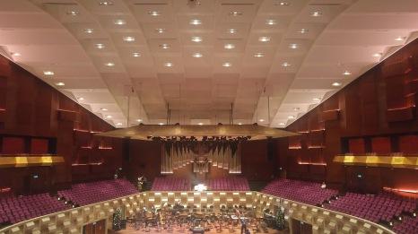 De Doelen Hall's acoustic ceiling