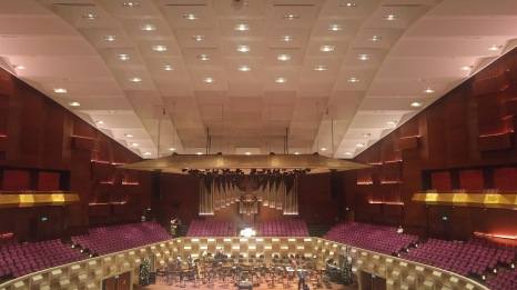 De Doelen Hall's acoustic ceiling