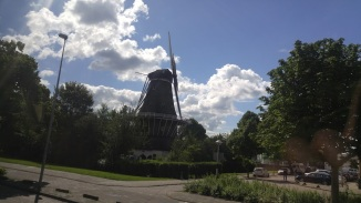 Windmill in Amsterdam photo credit, Me