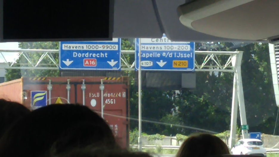 Dordrecht is the city that Rebecca grew up in