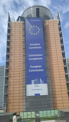 Brussels is the home of the EU European Commission