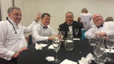 The funny guys at my table