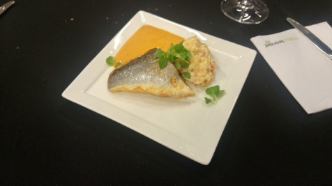 2nd course - some fish