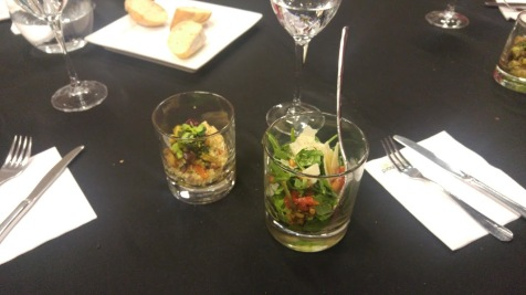 1st course - two salads
