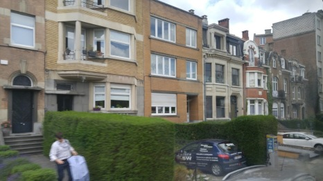 Some homes in Brussels