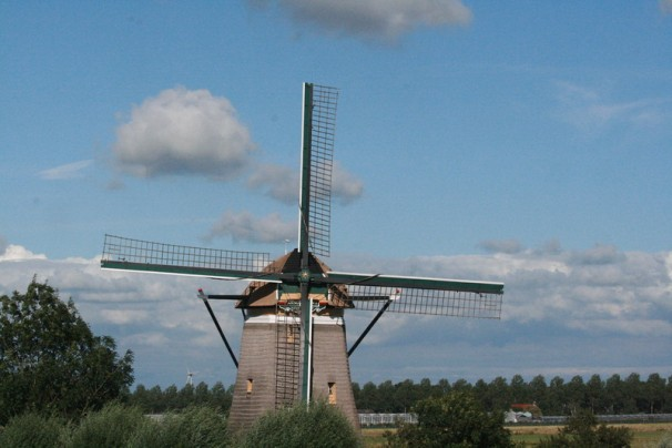 Windmill near Amsterdam photo credit Marilyn Neilson