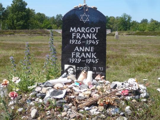 Anne-Frank-grave-memorial-auschwitz