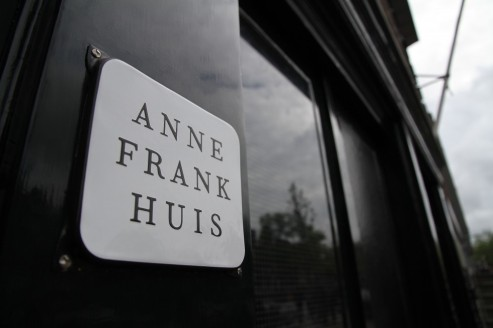 """Front Entrace to the Anne Frank """"Huis"""" [House]"""