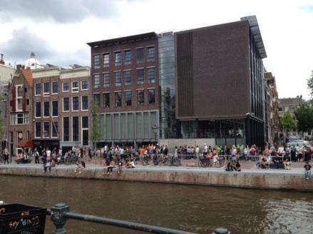 Anne Frank House - Front Facade and Museum