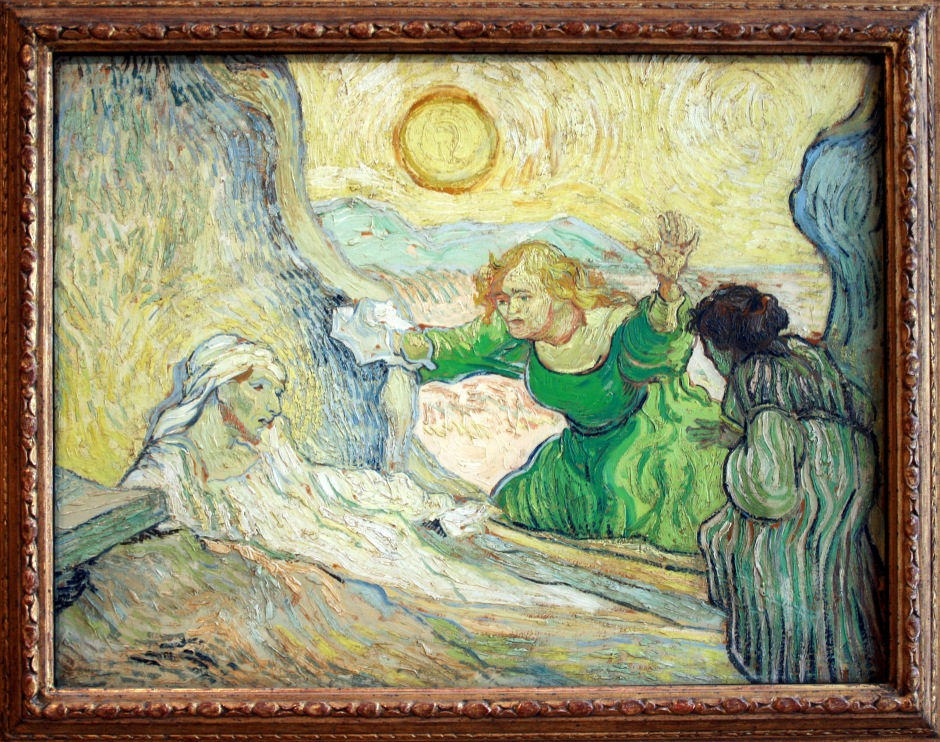 Raising-of-lazarus-after-rembrandt-vincent-van-gogh