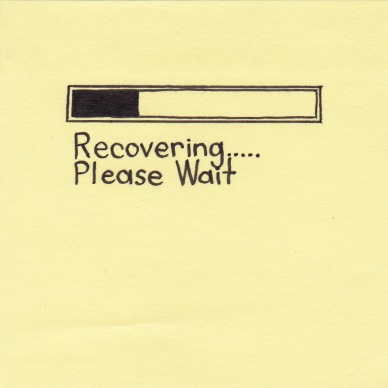 recovering-please-wait