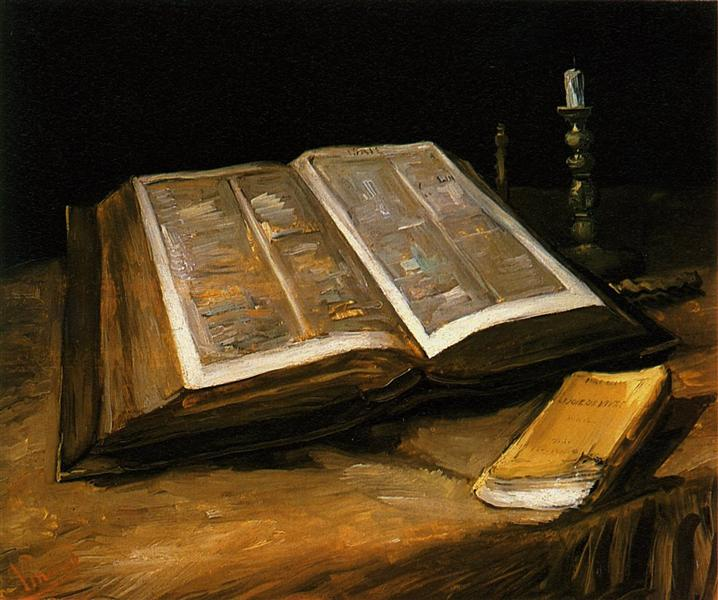 still-life-with-bible-van-gogh