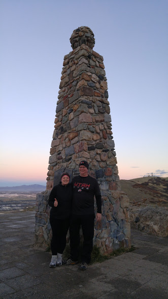 Ensign Peak monument!
