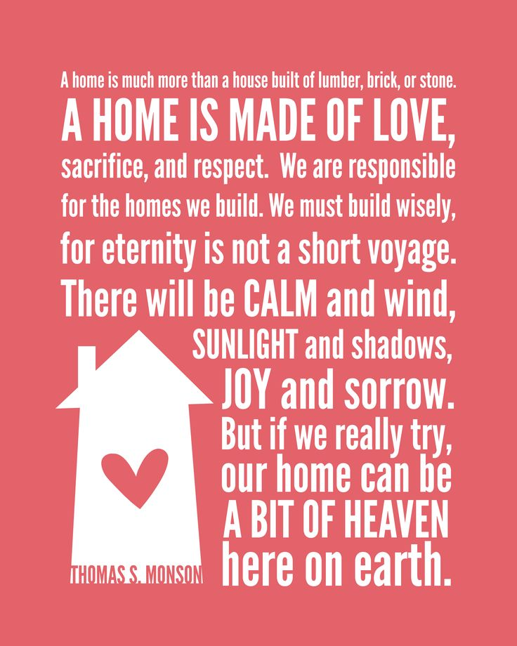 home-love-monson