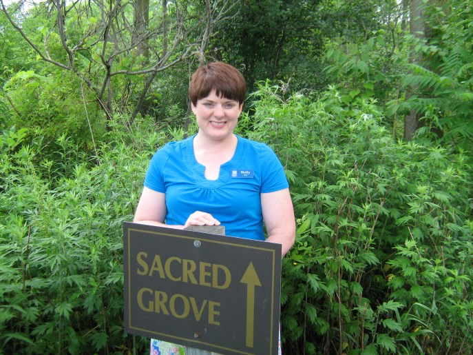 Visiting this sacred site was very moving