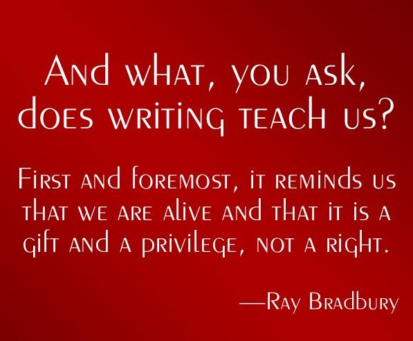 writing-Bradbury