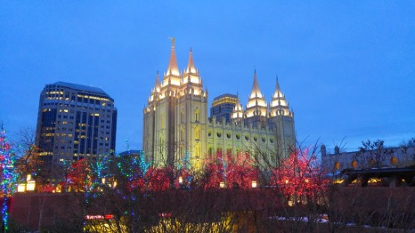 Christmas Magic on Temple Square