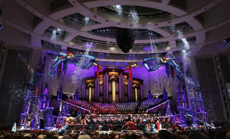 2011 Christmas Concert Motab snow