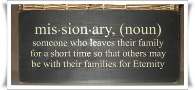 Missionary noun