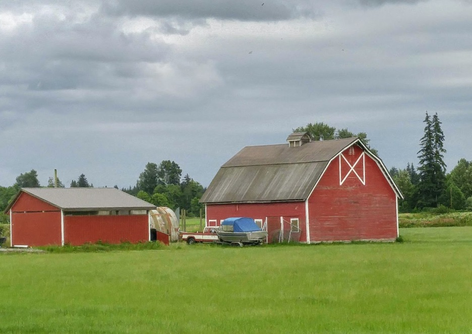 A pretty farm
