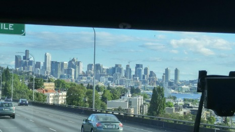 First glimpse of Seattle