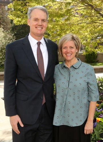 Elder John C and Anne Pingree