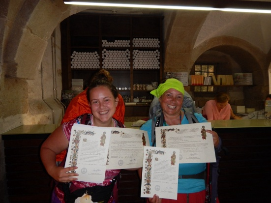 Abby and Shawna Pilgrims