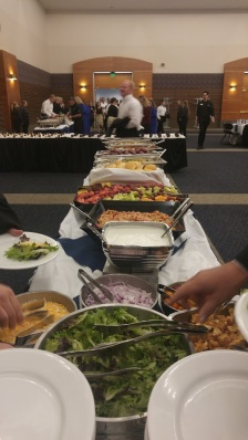 Buffet dinner for the Choir and Orchestra at USU