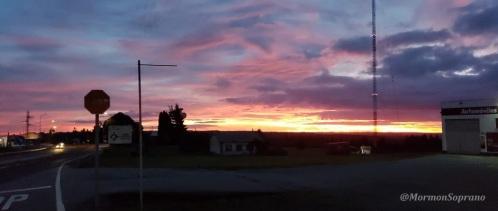 Sunrise 07:40